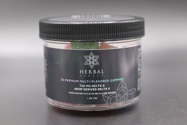 Herbal Aspect - Delta 8 THC Gummies 750MG Tubs (16)