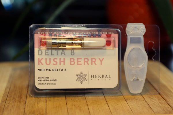 Herbal Aspect - Delta 8 THC Cartridge 1ML - Kush Berry