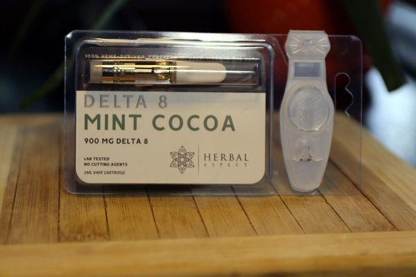 Herbal Aspect - Delta 8 THC Cartridge 1ML - Mint Cocoa