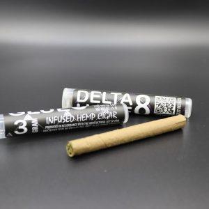 Delta 8 THC Hemp Flower Cigar 240MG CBD - 80 MG Delta 8