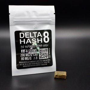 Delta 8 THC Infused Hash - 200MG CBD - 80 MG Delta 8 -2
