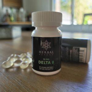 Vegan Delta 8 Soft Gels