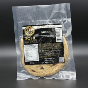 3chi Delta 8 THC Chocolate Chip Cookie - 50 MG