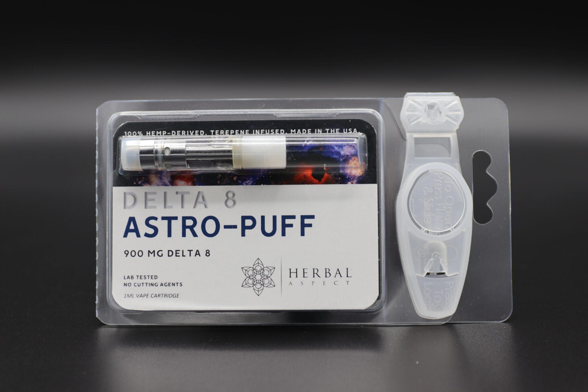 Herbal Aspect Delta 8 Vape - 900 MG - Astro Puff