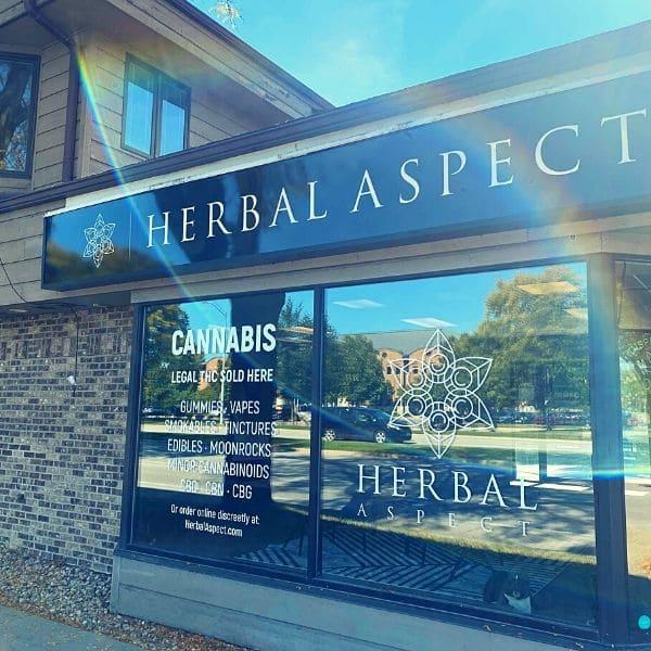 Herbal Aspect Shop Front Windows