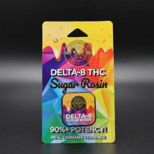 No Cap Hemp Delta 8 THC Live Sugar Rosin